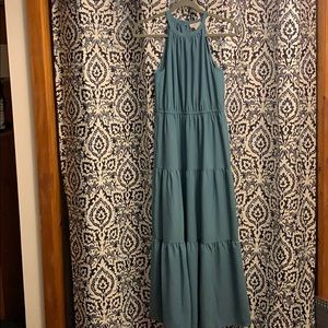 Ann Taylor Loft tiered dress